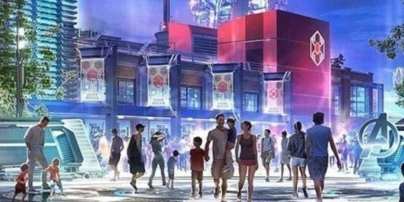 Cómo será el Campus Vengadores de Disneyland