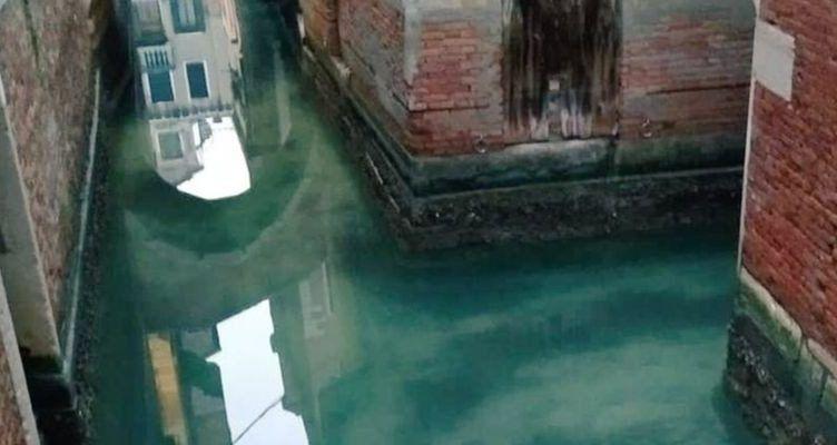 Los canales de Venecia como nunca los habíamos visto