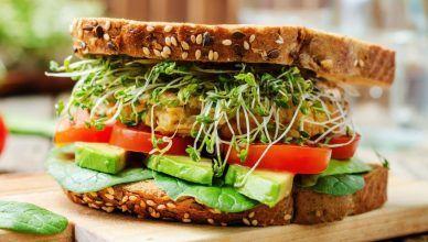 5 ingredientes para un sándwich saludable y ligero