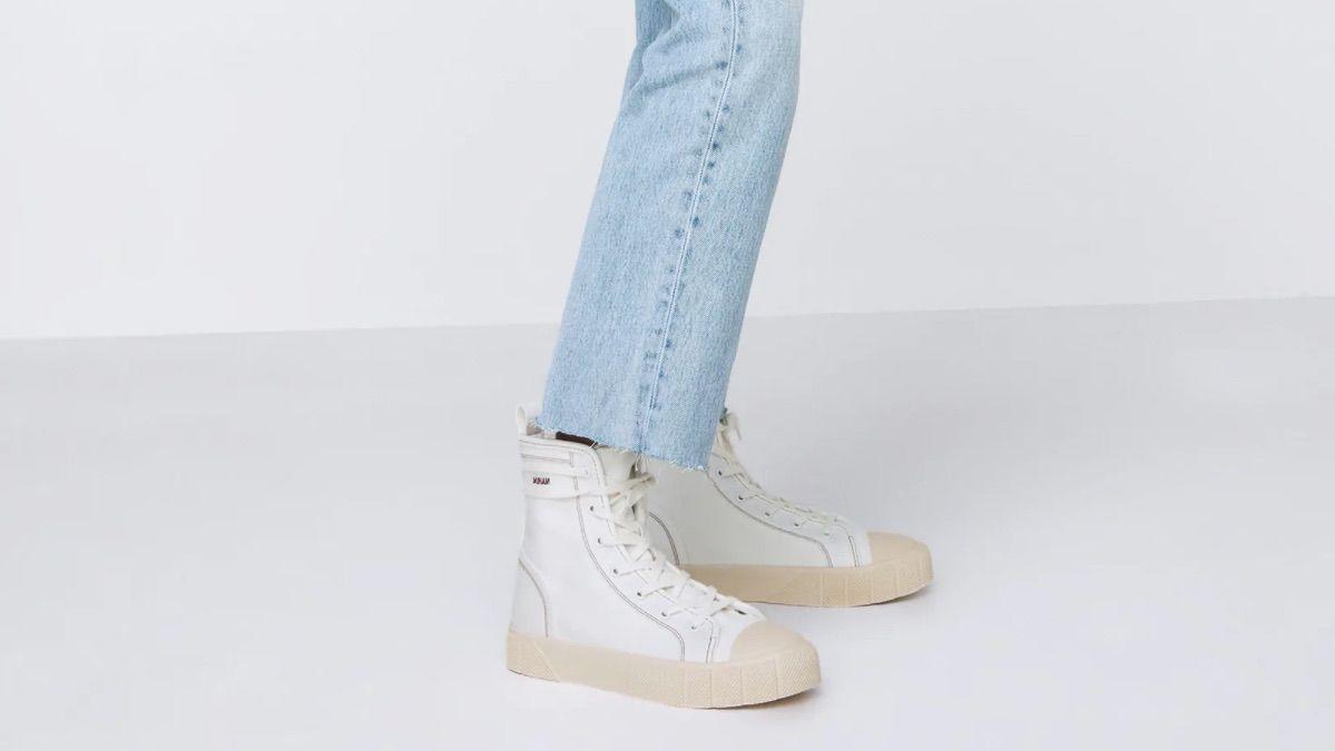Zapatillas personalizables de Zara