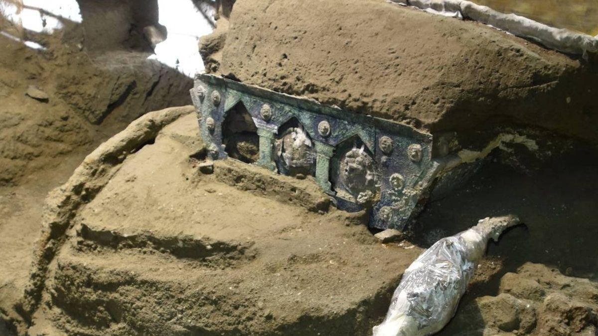 Carroza ceremonial romana Pompeya