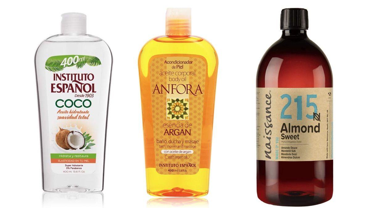 Mejores aceites cuerpo Amazon 2021