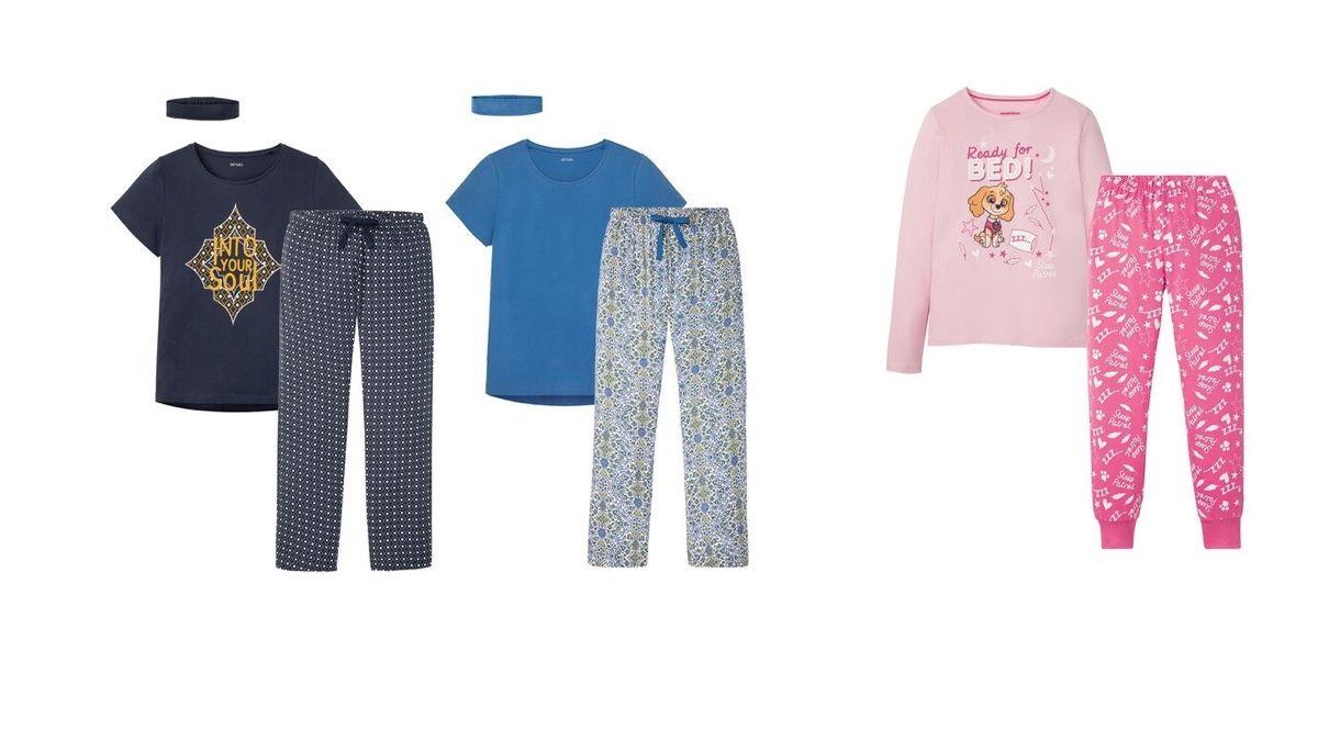 Pijamas de Lidl