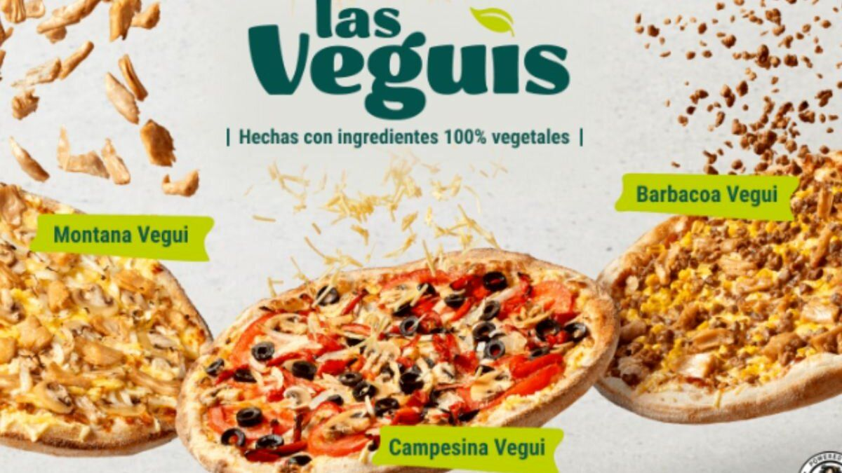 Pizzas veganas de Telepizza