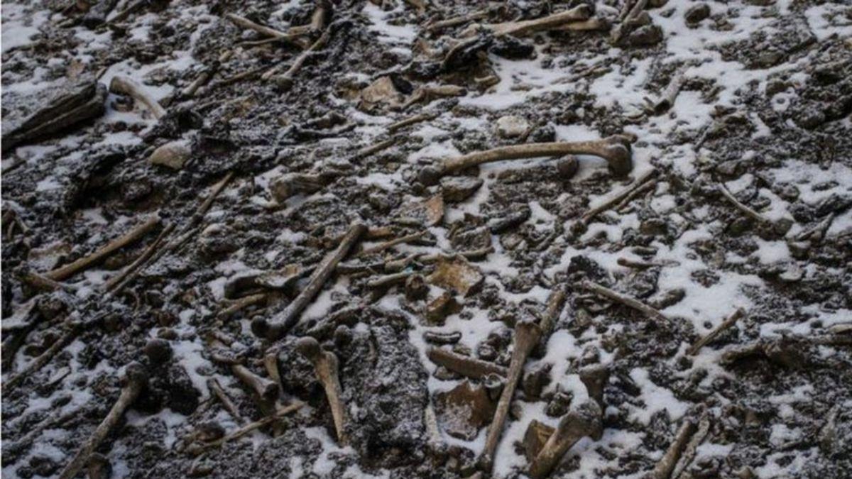 Lago esqueletos Himalaya