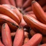Plátano rojo con sabor a frambuesa: características y precio