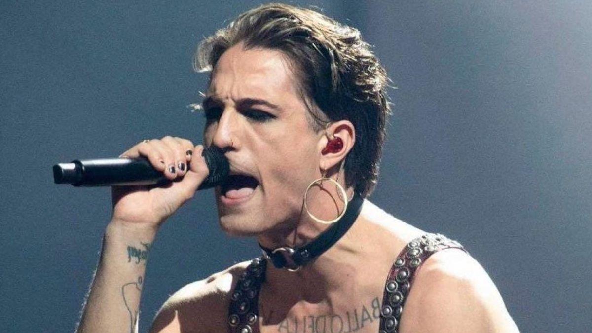 Cantante italiano Eurovisión test drogas